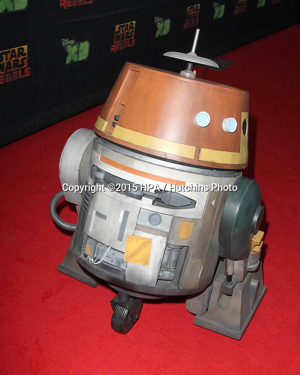 "LOS ANGELES - FEB 18:  Chopper Droid at the Global Premiere of ""Star Wars Rebels"" Season 2 at the Star Wars Celebration, Anaheim Convention Center on April 18, 2015 in Anaheim, CA"