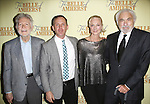 Playwright William Luce, director Steve Cosson, Joely Richardson and producer Don Gregory attend the Off-Broadway Opening Night Press reception for 'The Belle of Amherst'  at the Westside Theatre on October 19, 2014 in New York City.