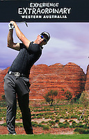 Alexandre Kaleka (FRA) on the 17th tee during Round 1 of the ISPS HANDA Perth International at the Lake Karrinyup Country Club on Thursday 23rd October 2014.<br /> Picture:  Thos Caffrey / www.golffile.ie