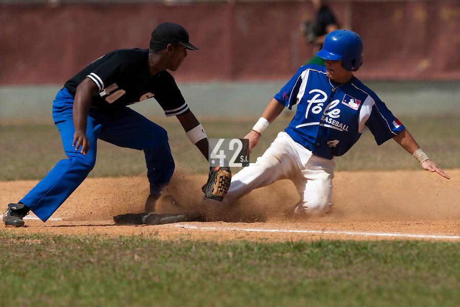 BASEBALL - POLES BASEBALL FRANCE - TRAINING CAMP CUBA - HAVANA (CUBA) - 13 TO 23/02/2009 - MAXIME LEFEVRE (FRANCE)