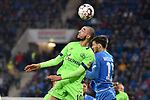 01.12.2018, wirsol Rhein-Neckar-Arena, Sinsheim, GER, 1 FBL, TSG 1899 Hoffenheim vs FC Schalke 04, <br /> <br /> DFL REGULATIONS PROHIBIT ANY USE OF PHOTOGRAPHS AS IMAGE SEQUENCES AND/OR QUASI-VIDEO.<br /> <br /> im Bild: Nabil Bentaleb (FC Schalke 04 #10) gegen <br /> Florian Grillitsch (TSG 1899 Hoffenheim #11)<br /> <br /> Foto © nordphoto / Fabisch