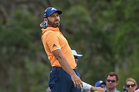 Sergio Garcia (ESP) lets go of his club as he watches his tee shot on 12 during round 3 of The Players Championship, TPC Sawgrass, at Ponte Vedra, Florida, USA. 5/12/2018.<br /> Picture: Golffile | Ken Murray<br /> <br /> <br /> All photo usage must carry mandatory copyright credit (&copy; Golffile | Ken Murray)