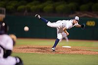 Northwest Arkansas Naturals pitcher Grant Gavin (25) delivers a pitch on May 16, 2019, at Arvest Ballpark in Springdale, Arkansas. (Jason Ivester/Four Seam Images)