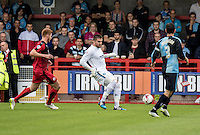 Goalkeeper Matt Ingram of Wycombe Wanderers during the Sky Bet League 2 match between Crawley Town and Wycombe Wanderers at Checkatrade.com Stadium, Crawley, England on 29 August 2015. Photo by Liam McAvoy.