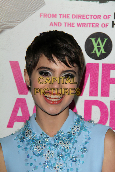 LOS ANGELES, CA - February 04: Sami Gayle at the &quot;Vampire Academy&quot; Los Angeles Premiere, Regal Cinemas, Los Angeles,  February 04, 2014. <br /> CAP/MPI/JO<br /> &copy;JO/MPI/Capital Pictures