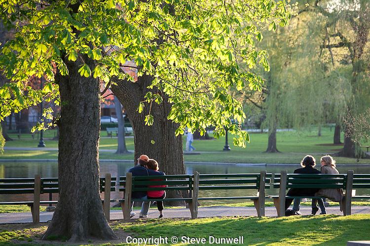 Public Garden afternoon, Boston, MA