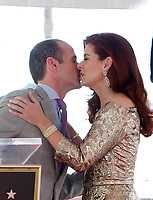 HOLLYWOOD, CA - October 06: Max Mutchnick, Debra Messing, At Debra Messing Honored With Star On The Hollywood Walk Of Fame At On The Hollywood Walk Of Fame In California on September 06, 2017. <br /> CAP/MPI/FS<br /> &copy;FS/MPI/Capital Pictures