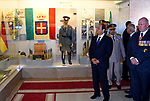 Egyptian President Abdel Fattah al-Sisi looks on at Alamein Military Museum, during a ceremony marking 75 years since the pivotal WWII battle, in the Egyptian Mediterranean town of the same name, about 100 kilometres (62 miles) west of Alexandria on October 21, 2017. The World War II Battle of El Alamein -- which began on October 23, 1942 -- pitched the Allied forces of British Field Marshal Bernard Montgomery's against his German counterpart Erwin Rommel's Afrika Korps. Photo by Egyptian President Office