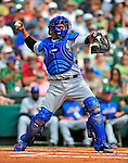 17 March 2009: New York Mets' catcher Robinson Cancel in action during a Spring Training game against the Atlanta Braves at Disney's Wide World of Sports in Orlando, Florida. The Braves defeated the Mets 5-1 in the Saint Patrick's Day Grapefruit League matchup. Mandatory Photo Credit: Ed Wolfstein Photo
