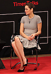Marion Cotillard on stage at TimesTalks at the Times Center in New York City. November 27, 2012.