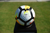 Carson, CA - Thursday August 03, 2017: Game ball prior to a 2017 Tournament of Nations match between the women's national teams of Australia (AUS) and Brazil (BRA) at the StubHub Center.