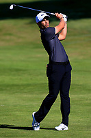 Adrien Saddier (FRA) during the first round of the Lyoness Open powered by Organic+ played at Diamond Country Club, Atzenbrugg, Austria. 8-11 June 2017.<br /> 08/06/2017.<br /> Picture: Golffile | Phil Inglis<br /> <br /> <br /> All photo usage must carry mandatory copyright credit (&copy; Golffile | Phil Inglis)