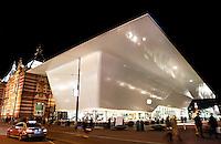 Nederland Amsterdam  2015. Aanbouw van het Stedelijk Museum. Foto Berlinda van Dam / Hollandse Hoogte