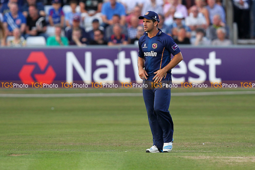 Ryen ten Doeschate of Essex looks on - Essex Eagles vs Surrey Lions - NatWest T20 Blast Cricket at the Essex County Ground, Chelmsford - 04/07/14 - MANDATORY CREDIT: Gavin Ellis/TGSPHOTO - Self billing applies where appropriate - 0845 094 6026 - contact@tgsphoto.co.uk - NO UNPAID USE