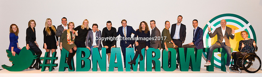 ABN AMRO World Tennis Tournament, Rotterdam, The Netherlands, 16 Februari, 2017,<br /> Management team<br /> Photo: Henk Koster