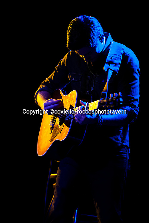 Alexis Babini playing at Ocean Music Hall.