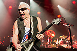 May 6, 2016. Concord, North Carolina. <br /> (from left)  Rudolf Schenker of The Scorpions closed out the opening night of the Carolina Rebellion.<br />  The 2016 Carolina Rebellion was held over May 6-8 next to the Charlotte Motor Speedway and featured over 50 bands including headliners Lynyrd Skynyrd, The Scorpions, Five Finger Death Punch, Disturbed, and Rob Zombie.