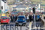 The funeral of Aodhán Ó'Conchúir in Dingle on Wednesday.