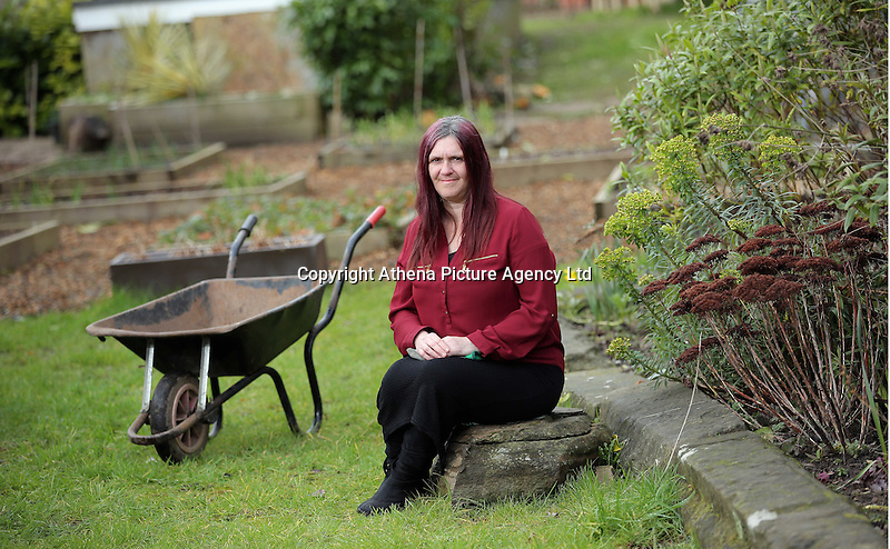 Pictured: (CASE STUDY, REPORTER DAWN FOSTER HAS YET TO GIVE ME ANY NAMES) Friday 04 March 2016<br /> Re:  Oxfam community project, Duffryn Community Link <br /> located at Tredegar House near Newport, south Wales, UK. The project involves gardening with people in poverty.