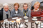 Attending the annual coffee morning in aid of Chernobyl children at Killarney Golf and Fishing Club last Thursday. <br /> L-R Sr Kathleen, Han Linehan, Mary Harmon and Anne Leahy.
