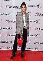 Sarah Ann Macklin<br /> Launch party of Cineworld Group's new Korean-developed technology, using projections on the side of theatre walls to create a 270 degree viewing experience, at Cineworld Greenwich, The O2, London, England, UK.<br /> CAP/JOR<br /> &copy;JOR/Capital Pictures