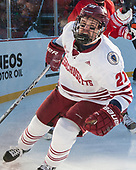 Ryan Badger (UMass - 21) - The Boston University Terriers defeated the University of Massachusetts Minutemen 5-3 on Sunday, January 8, 2017, at Fenway Park in Boston, Massachusetts.The Boston University Terriers defeated the University of Massachusetts Minutemen 5-3 on Sunday, January 8, 2017, at Fenway Park.