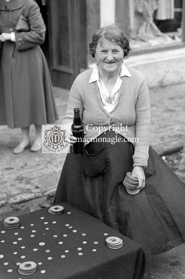 A street trader at Puck Fair in the 1950's..Photo: macmonagle.com archive