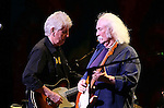 "May 27, 2011 New York: Singers / Songwriters Graham Nash and David Crosby perform ""Wavy Gravy's 75th Birthday"" at the Beacon Theatre on May 27, 2011 in New York."