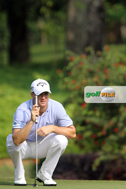 Alexander Noren (SWE) on the 12th during the resumed Round 2 of the 2013 Maybank Malaysian Open, Kuala Lumpur Golf and Country Club, Kuala Lumpur, Malaysia 23/3/13...(Photo Jenny Matthews/www.golffile.ie)