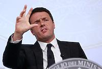 20140613 ROMA-POLITICA: CONFERENZA STAMPA DI RENZI AL TERMINE DEL CONSIGLIO DEI MINISTRI