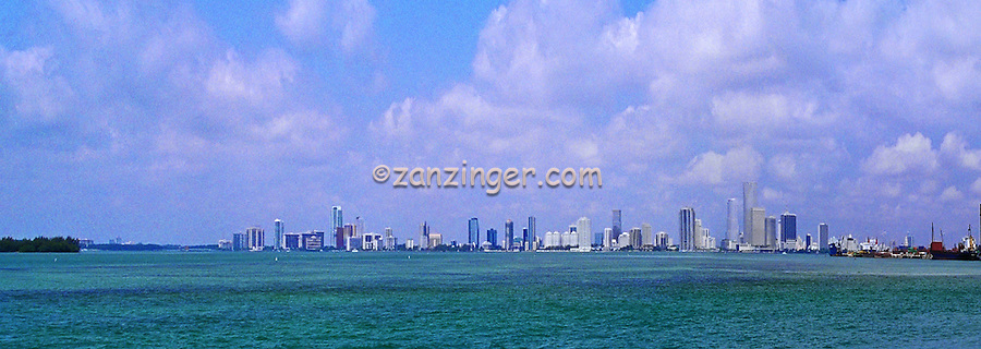 Miami Florida, Cityscape, Skyline Panorama