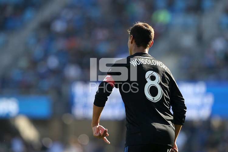 San Jose, CA - Sunday October 21, 2018: Chris Wondolowski during a Major League Soccer (MLS) match between the San Jose Earthquakes and the Colorado Rapids at Avaya Stadium.