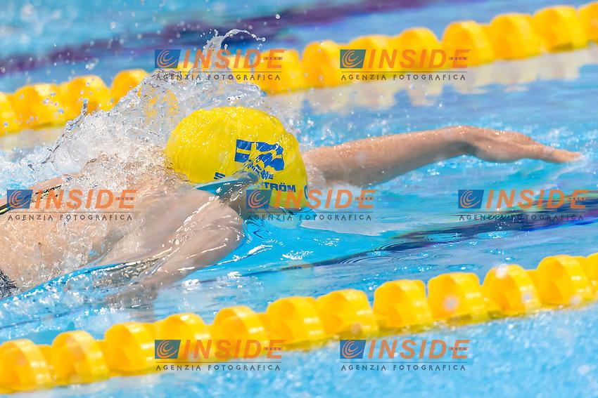 Sarah SJOESTROEM SWE <br /> 100m Freestyle Women preliminary <br /> London, Queen Elizabeth II Olympic Park Pool <br /> LEN 2016 European Aquatics Elite Championships <br /> Swimming<br /> Day 09 17-05-2016<br /> Photo Andrea Staccioli/Deepbluemedia/Insidefoto