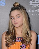 """01 August 2016 - Hollywood, California. Lizzy Greene. World premiere of """"Nine Lives"""" held at the TCL Chinese Theatre. Photo Credit: Birdie Thompson/AdMedia"""