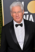 LOS ANGELES, CA. January 06, 2019: Richard Gere at the 2019 Golden Globe Awards at the Beverly Hilton Hotel.<br /> Picture: Paul Smith/Featureflash