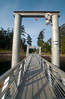 Ramp, Jones Island State Park, San Juan Islands, Washington, US