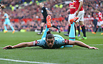 West Ham's Andy Carroll dejected following a missed header during the Emirates FA Cup match at Old Trafford. Photo credit should read: Philip Oldham/Sportimage