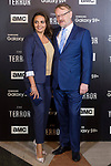 British actor Jared Harris and his wife, Allegra Riggio attends to presentation of the new AMC Series 'The Terror' in Madrid , Spain. March 19, 2018. (ALTERPHOTOS/Borja B.Hojas)