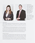 Tear sheet showing photography in context of magazines, books and websites taken for clients in Bath, Bristol and Swindon. Portrait photography for book on the history of Burges Salmon, law firm in Bristol.