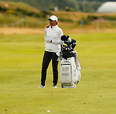 Cheyenne Woods during the final round  of the 2016 Aberdeen Asset Management Ladies Scottish Open played at Dundonald Links Ayrshire from 22nd to 24th July 2016:  Picture Stuart Adams, www.golftourimages.com: 22/07/2016