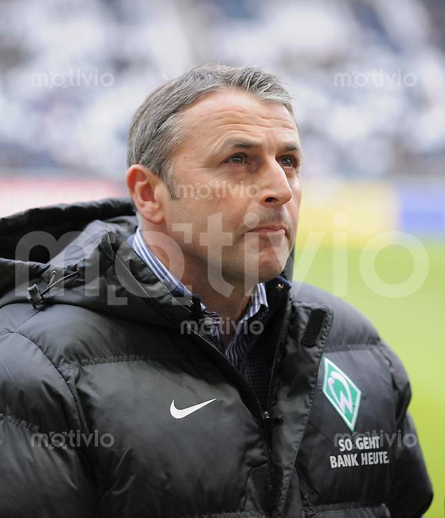Fussball 1. Bundesliga   Saison   2009/2010  18. Spieltag  16.01.2010 Eintracht Frankfurt - SV Werder Bremen SV Werder Sportdirektor;  Klaus Allofs