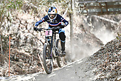 8th September 2017, Smithfield Forest, Cairns, Australia; UCI Mountain Bike World Championships; Myriam Nicole (FRA) riding for Commencal/Vallnord during the downhill official timed session;