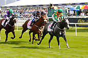 14th September 2017, Doncaster Racecourse, Doncaster, England; The William Hill St Ledger Festival, DFS Ladies Day; Buccaneers Vault ridden by Georgina Cox wins the DFS Silk Series Lady's Riders Handicap Stakes