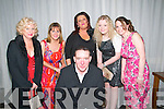 Listowel Rugby Club Social : Attending the Listowel Rugby Club social at the Listowel Arms Hotel on Saturday night last were Noreen Casey, Suzanne Keane,Helena Carey, Rebecca Kiely, Marina Smith & James Maguire in front