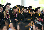 Jump Start students stand to be recognized during the 2018 Western Nevada College Commencement ceremony, in Carson City, Nev., on Monday, May 21, 2018. <br /> Photo by Cathleen Allison/Nevada Momentum