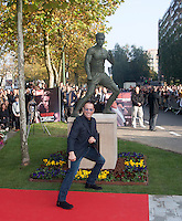 Jean-Claude Van Damme honored with his life statue in Brussels