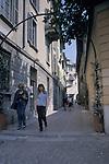 Pedestrian Street, Como, Italy
