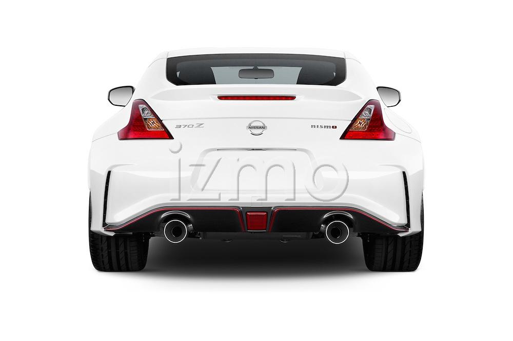 2015 Nissan 370Z NISMO 2 Door Coupe Rear View Stock Images | izmostock