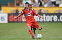 D.C. United defender Daniel Woolard (21)   File photo RFK stadium 2011 season.