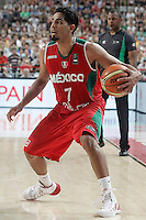 Mexico's Jorge Gutierrez during 2014 FIBA Basketball World Cup Round of 16 match.September 6,2014.(ALTERPHOTOS/Acero)